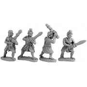Indian Guardsmen & Clubmen