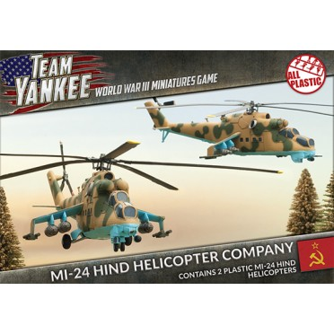 Team Yankee -MI-24 Hind Helicopter Company