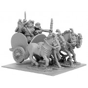 Indian 4-Horsed Chariot w/4 Crew