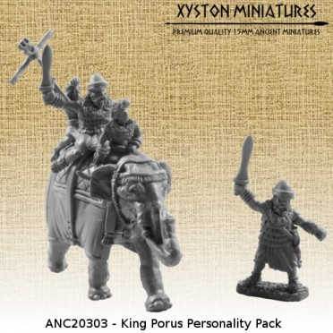 King Porus Personality Pack