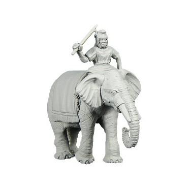 Carthaginian Elephant w/Mahout (A)