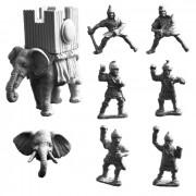Carthaginian Elephant with War Tower (B)