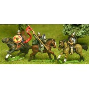 Saxon: Command: Mounted General, Sub-General & Noble