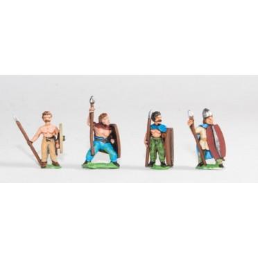 Ancient British / Gallic: Foot Warriors