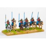 Khitan Liao: Light Cavalry, lance, bow, shield