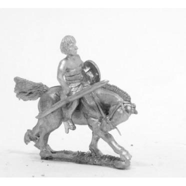 Later New Kingdom Egyptian: Light horsemen with javelin