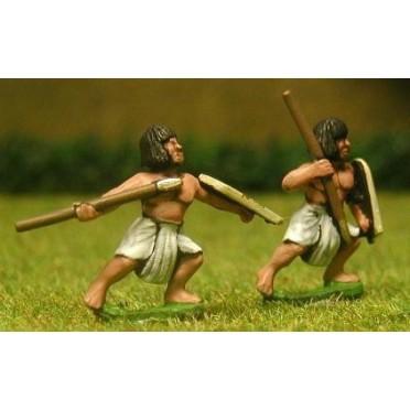 Later New Kingdom Egyptian: Assorted Light Javelinmen