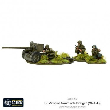 Bolt Action - US Airborne 57mm Anti-tank Gun (1944-1945)
