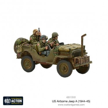 Bolt Action - US Airborne Jeep