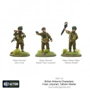 Bolt Action - British Aiborne Characters - Frost, Urquhart & Tatham-Warter