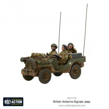 Bolt Action - British Airborne Signals Jeep