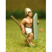 Saite Egyptian: Spearman with long shield