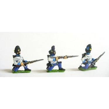 Assorted Hungarian Grenadiers kneeling