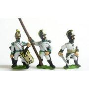 Command pack: German Command in helmet, halted