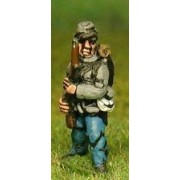 Union or Confederate: Infantry in Kepi & Tunic with Full Pack & Equipment: At the Ready