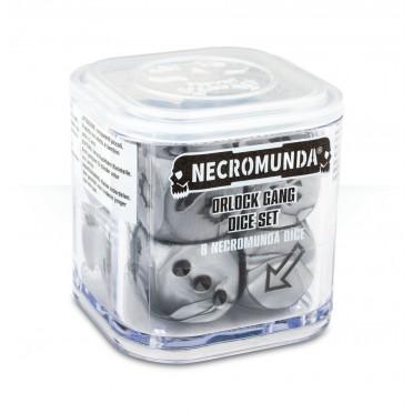 Necromunda : Underhive - Orlock Gang Dice Set