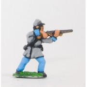 Union or Confederate: Infantry in Kepi & Frock Coat, firing