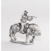 Union or Confederate: Trooper in Kepi firing carbine forward