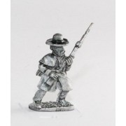 Union or Confederate: Infantry in Overcoats: Advancing in Slouch Hat