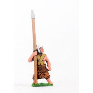 Sumerian: Spearman, spear upright
