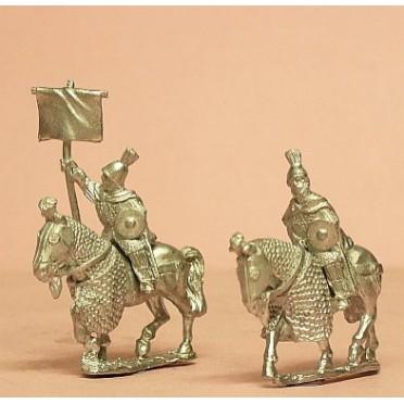 Byzantine: Kataphraktoi Command: Officers & Standard Bearers