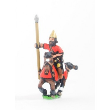 Chaldean or Neo Babylonian: Extra heavy cavalry with lance & bow