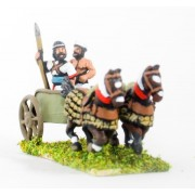 Sea Peoples: 2 Horse Chariot with General & driver