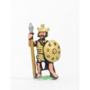 Sea Peoples: Sherden Heavy Infantry with javelin, two handed sword & shield
