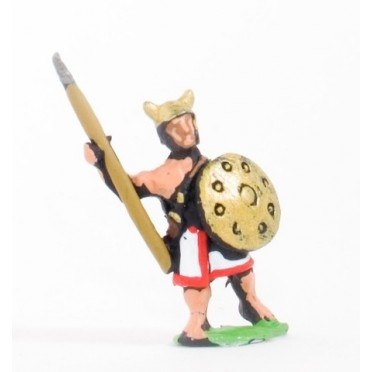 Sea Peoples: Sherden Light Infantry with Javelin, Two Handed Sword & Shield