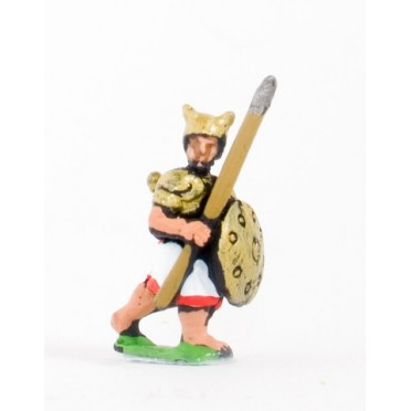 Sea Peoples: Sherden Medium Infantry with javelin & shield