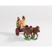 Caledonian & Pictish: Two horse Chariot with General & driver