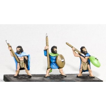 Caledonian & Pictish: Warband Infantry with javelin & shield