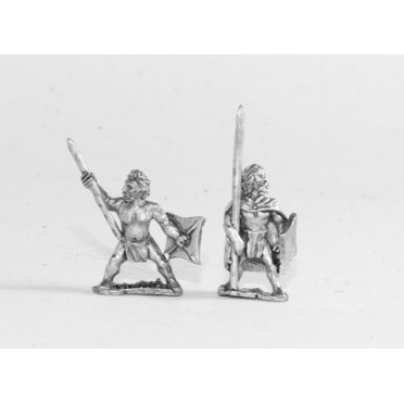Caledonian & Pictish: Warband Infantry with long spear & sword
