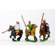 Arab light cavalry, heart shield, assorted poses