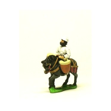 Command pack: Mounted drummers on horseback