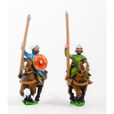 Seljuq horse archers with javelins, assorted poses