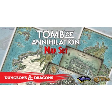 D&D - Tomb of Annihilation Map Set