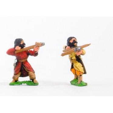 Seljuq crossbowmen, assorted poses