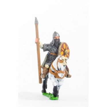 Georgian heavy cavalry with lance, bow and shield