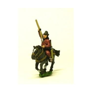 Cuman horse archer with javelin