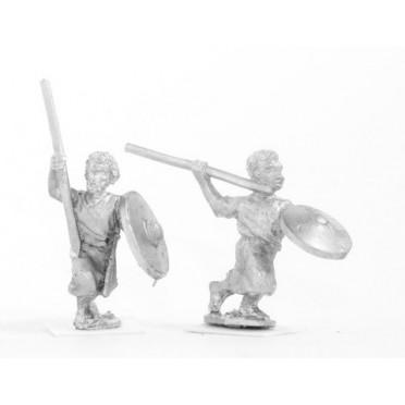 Sudanese javelinmen / spearmen