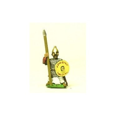 Sarason heavy spearmen with round shields