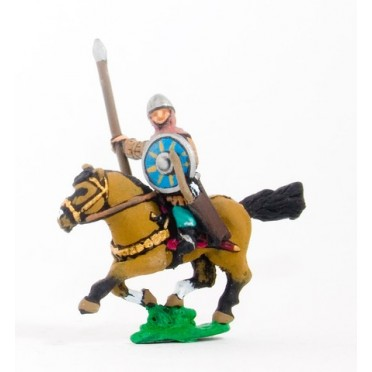 Syrian heavy cavalry with lance, bow and shield