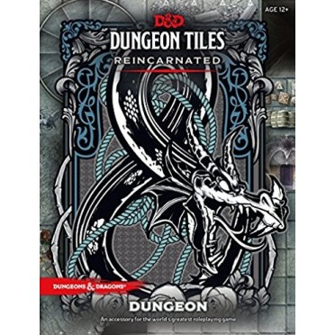 Dungeons & Dragons RPG - Dungeon Tiles Reincarnated Dungeon