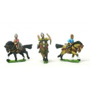 Ilkhanid Mongol Unarmoured Horse Archers, assorted