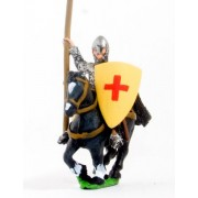 Frankish Mounted Knights, Large Heater Shields, Unbarded Horses, variants