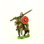 Dark Age: Heavy Cavalry in mail with lance and round shield