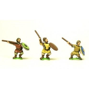 Dark Age: Javelinmen with bare heads