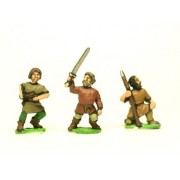 Dark Age: Hordes - mixed figures and weapons