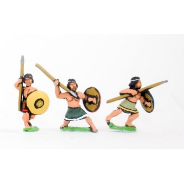 Generic Irregular Infantry: Assorted javelinmen